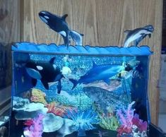 Making a ocean diorama is a fun way to learn about life in the sea. These under the sea dioramas are fun to make and look great. School Projects, Projects For Kids, Crafts For Kids, Craft Projects, Craft Kids, Ocean Diorama, Diorama Kids, Orcas, Diaroma Ideas