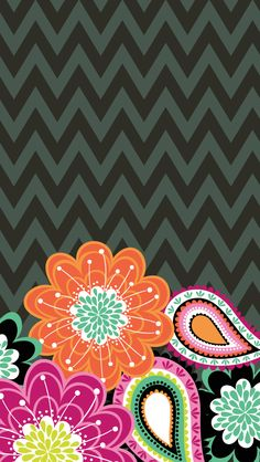 dress your tech ziggy zinnia mobile wallpaper vera bradley