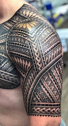 Polynesian Tattoo Sleeve, Samoan Tattoo, I Tattoo, Sleeve Tattoos, Cool Tribal Tattoos, Filipino Tattoos, Tatoos, Tattoo Designs, Ink