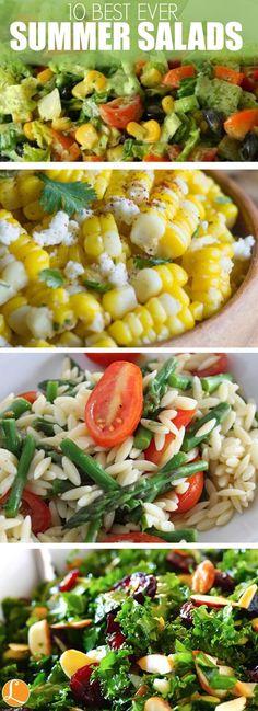 10 Best Ever Summer Salad Recipes!