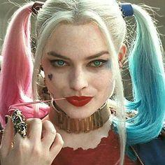 Harley Quinn makeup inspiration