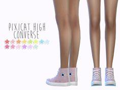 ALL MY SIMS — sens-felipa: Pixicat High Converse recolors ...