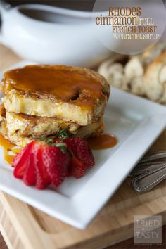 Rhodes Guest Blog: Cinnamon Roll French Toast | Tried and Tasty