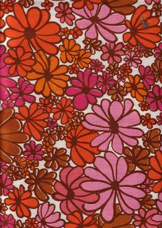 Probably from the early 70's.  This fabric is very like some curtains I had when I got married in 1972