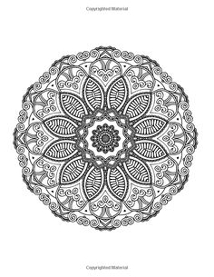 Lilt Kids Coloring Books / Mandalas To Color: Beautiful Mandala Coloring Pages / Coloring Book for Adults (Volume 2) / Amazon.com