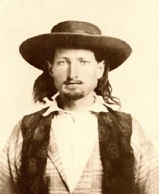 Bill Hickok in 1858--Bill Hickock was a stocktender at Rock Creek Station during the days of the Pony Express. Annie might have met him.