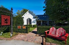 The Brigadoon Inn & Cottage-Leipers Fork TN. What's not to love about this house?