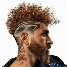 Click the link for more hairstyle #CurlyFadeDesign #Hairstyleformen #ThickFullBeardMen Best Fade Haircuts, Popular Short Haircuts, Mens Hairstyles Fade, Top Hairstyles, Haircuts For Men, Mid Fade Haircut, Types Of Fade Haircut, Haircut Tip, Fade Skin