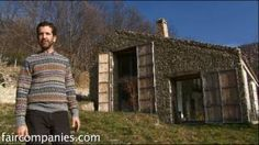 Abandoned stable becomes off-grid, luxurious family dream home, via YouTube.