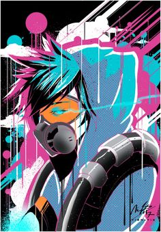 Graffiti tracer by Vibratix.deviantart.com on @DeviantArt