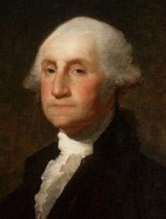 A painting of #President George Washington (1732–1799) becomes the First President of the United States - April 30, 1789 through March 4, 1797 Independent (Visit our Board and Collect a Profile of ALL the  #PresidentsOfUSA )