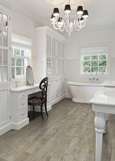 """Vintage Wood Porcelain Tile  Ash 6"""" x 36"""" & 6"""" x 24"""""""
