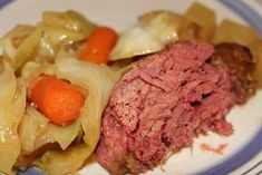 Tomorrows the day for everyone to pretend they are Irish... why not try this yummy crockpot corned beef and cabbage recipe and get your Irish on!