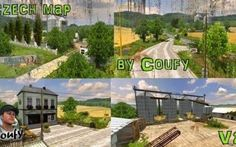 Czech Map v 2.0 per Farming simulator 2013 #farmingsimulator2013 #mappe