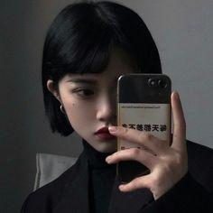 Asian Short Hair, Girl Short Hair, Korean Aesthetic, Aesthetic Hair, Icon Girl, Ulzzang Korean Girl, Uzzlang Girl, Aesthetic People, School Looks