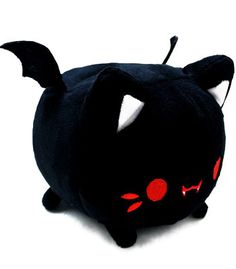 I can't wait for my special Halloween Meowchi plush vampire bat to come in the mail!! AHHHH thank you obscurans