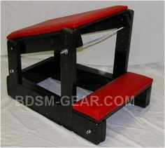 Deluxe Adjustable Spanking Stand
