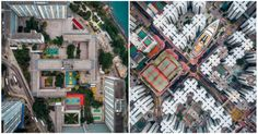 Top 9 des photos de Hong Kong vu du ciel par Andy Yeung cest vertigineux