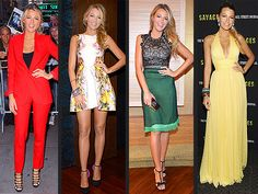 One day. One pose. Four outfits. Blake Lively's style streak continues! http://www.fusionobgyn.com/