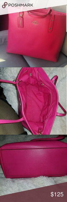 Authentic coach bag Large city bag Coach Bags Totes