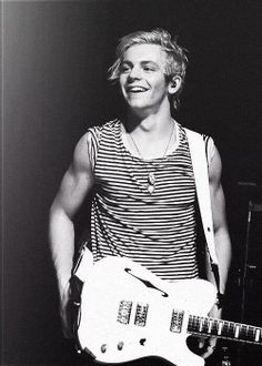 Ross Lynch- i love to see how happy he gets, especially when he's onstage.