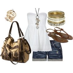 """gold"" by sandreamarie on Polyvore"