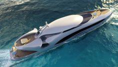 Amazing Oculus Yacht - design by Schopfer Yachts