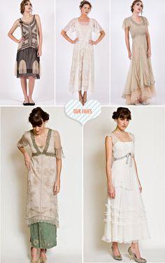 Vintage Inspired Wedding Gowns by Inga Nataya Couture // http://ruffledblog.com/nataya-sp
