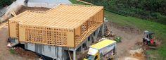 Uma casa ecológica com 370m² construída em tempo recorde (De Maria Miranda - HOMIFY)