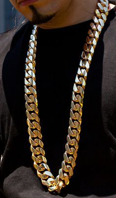 Jewelry & Accessories Top Quality Men Hip Hop Bling Iced Out Cube Chain Necklace Gold Electroplated Miami Cuban Link Rhinestone Necklaces Hipster Highly Polished