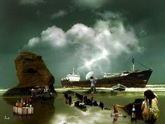 Las botellas del naufragio