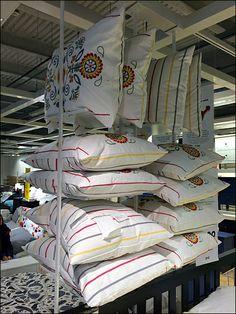 IKEA Overhead Pillow Rack