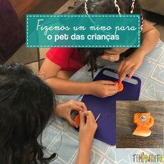 Faça você mesmo: brincadeira para o pet do seu filho - Tempojunto Soap, Personal Care, Bottle, Toddler Activities, Carrot, Pranks, Sons, Diy, Self Care