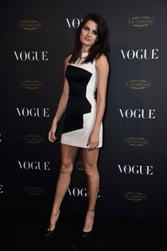 Isabeli Fontana attends the Vogue 95th Anniversary Party on October 3, 2015 in Paris, France.