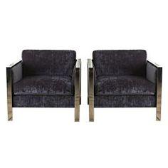 Pair of Mid Century Danish 'Selig' Chairs