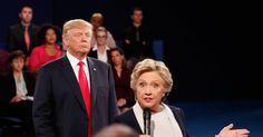 Trump was 'literally breathing down my neck' in debate: Clinton