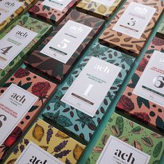 ACH #vegan #chocolate. Designed by: Gintare Marcin, Lithuania.  https://goo.gl/X7dAUN