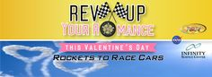 This Valentine's Day, Rev-Up Your Romance with ROCKETS2RACECARS at INFINITY!
