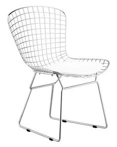 Zuo Modern Zuo Modern Wire Dining Chair - Set of 2 - Chrome from Hayneedle | BHG.com Shop
