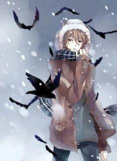 Raven - Digital Art by iya-chen