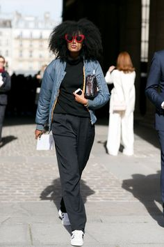 Pin for Later: The Best Street Style Snaps From Paris Fashion Week PFW Day Four Julia Sarr-Jamois