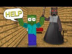 Monster School : GRANNY HORROR GAME CHALLENGE - Minecraft Animation Minecraft, Monster School, Horror, Animation, Top Videos, Nintendo 64, Challenges, Games, Art