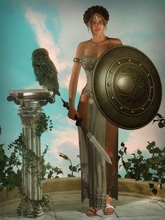 """Athena - Goddess of wisdom"""