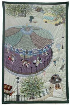 高原ゆかり作品集 ~ 布や糸を絵具にかえて ~ : パッチワークキルト・手芸キットのゆう風舎 Net Shop