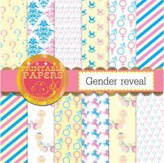 Gender reveal digital paper 'boy or girl' baby boy by GemmedSnail  https://www.etsy.com/listing/198036379/gender-reveal-digital-paper-boy-or-girl?ref=shop_home_active_11