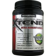 Scivation Xtend Lemon Lime Sour 1260 g | Regular Price: $89.99, Sale Price: $64.99 | OvernightSupplements.com | #onSale #supplements #specials #Scivation #AminoAcids  | Scivation Xtend The most advanced sugar and carbohydrate free Intra Workout Catalyst scientifically formulated to maximize training intensity and promote optimal muscle protein synthesis and recovery while you train Xtend is formulated with a precise PentActive blend of actives synergistically involved in key