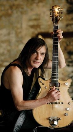 Malcolm Young #acdc #malcolmyoung #rockstargallery