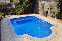Narellan Pools Pinto Pool in Bermuda Blue #NarellanPoolsInspiration