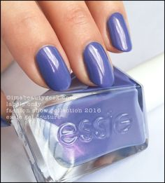 Essie Labels Only - Essie Gel Couture 2016. All the swatches 'n stuff at imabeautygeek.com