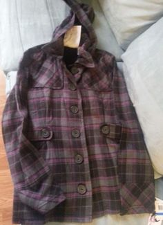 Check out New with tags Self Esteem purple plaid fall jacket size XL Free Shipping #SelfEsteem http://www.ebay.com/itm/-/262134297395?roken=cUgayN&soutkn=Tc3FZn via @eBay